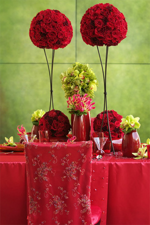 decoration-table-rouge-boule