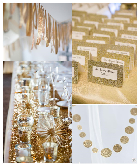 decorationsdemariage.fr_decoration_mariage_paillette_glitter_or_chemin_table_sequins_guirlande_ruban_dore_guirlande_pois
