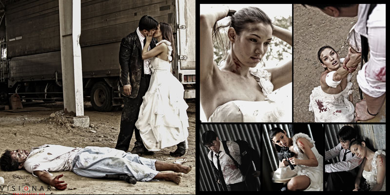trash the dress zombie