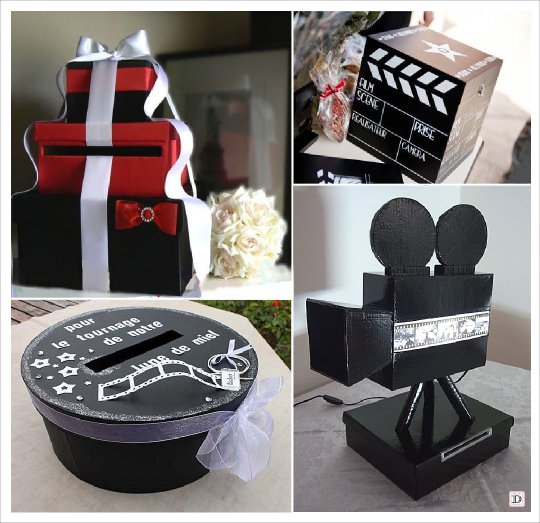 decorationsdemariage_mariage_cinema_urne_camera_boite_ronde